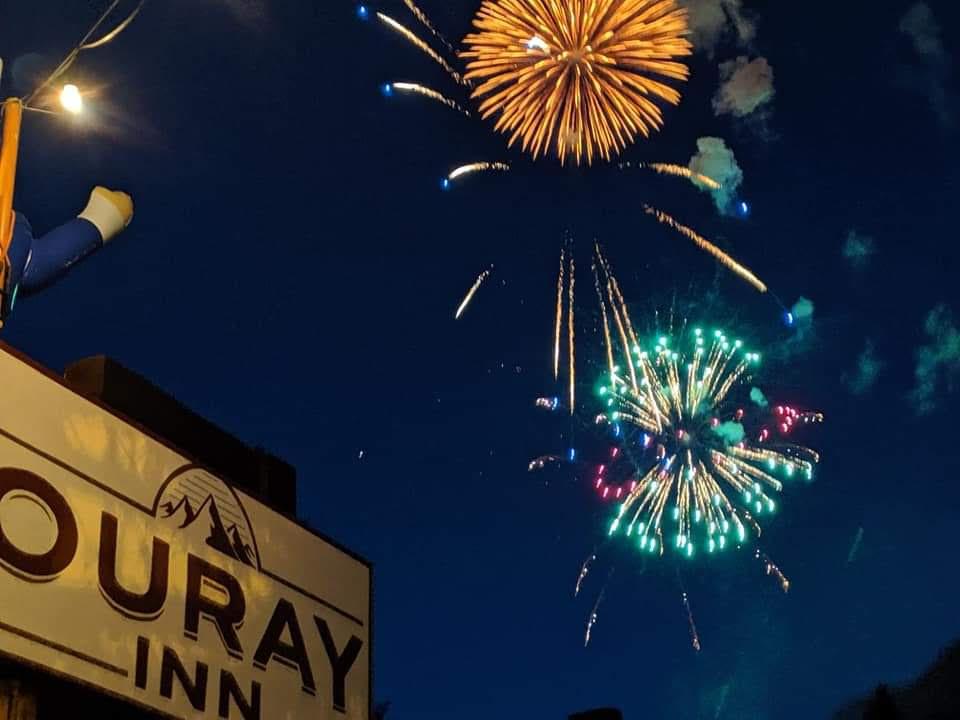 Fireworks at Ouray Inn